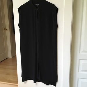 Eileen Fisher 100% Silk crepe dress